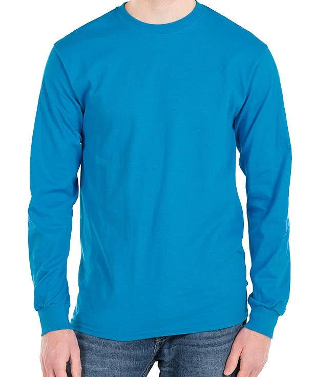 Design Custom Printed Gildan Ultra Cotton Long-sleeve T-Shirts ...