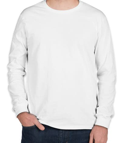 Custom Anvil Long Sleeve Jersey T-shirt - Design Long Sleeve T ...