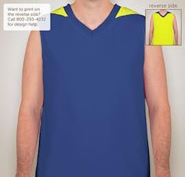 8b70c4ffdbe ... Teamwork Turnaround Reversible Basketball Jersey - Color: Royal / Fluorescent  Yellow ...