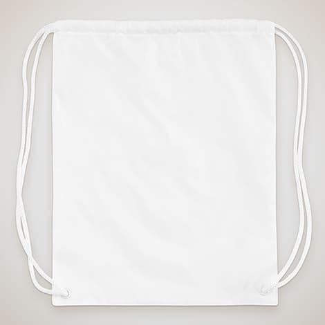 Drawstring Bag - White