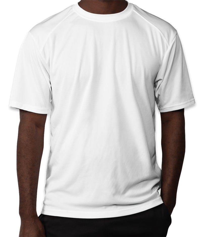 Custom badger b dry performance shirt design performance for Dry fit custom t shirts