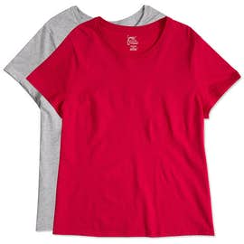 Hanes Ladies Just My Size Plus T-shirt