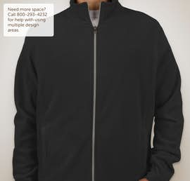 Port Authority Full Zip Microfleece Jacket - Color: Black