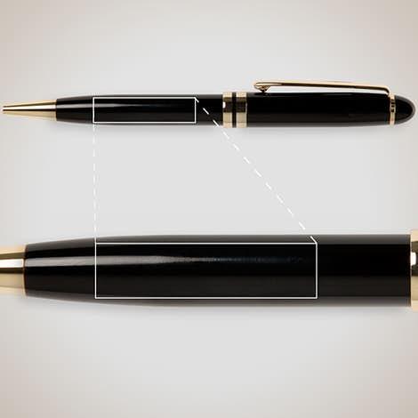 BIC Esteem Pen - Black / Gold
