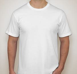 American Apparel Jersey T-shirt - Color: White