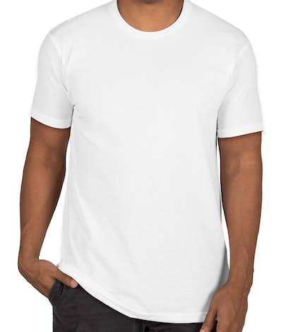 Custom next level sueded t shirt design short sleeve t for Next level custom shirts
