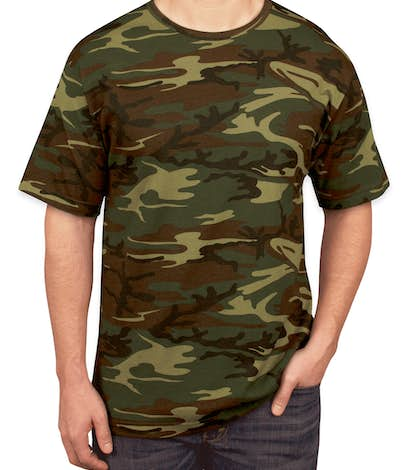 custom code 5 camo t shirt design short sleeve t shirts