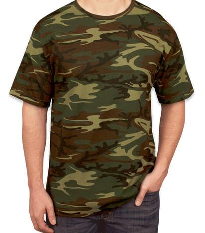 Canada - Code 5 Camo T-shirt - Green Woodland