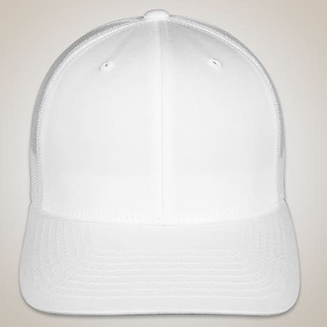 Yupoong Retro Trucker Hat - White