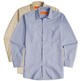 Red Kap® Long Sleeve Industrial Work Shirt