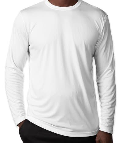 Sport-Tek Competitor Long Sleeve Performance Shirt - White