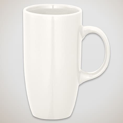 20 oz. Tall Bistro Mug - White