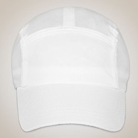 Team 365 Headsweats Performance Running Hat - White