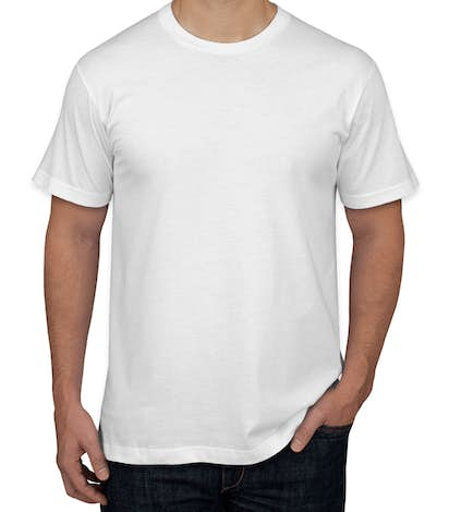 design custom printed american apparel jersey t shirts