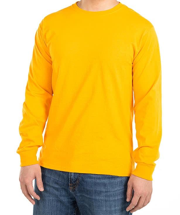 Custom Jerzees 50/50 Long Sleeve T-shirt - Design Long Sleeve T ...
