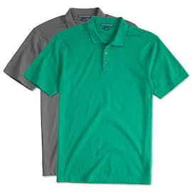 Port Authority Silk Touch Interlock Jersey Polo