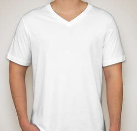 Canada - Canvas Jersey V-Neck T-shirt - Color: White