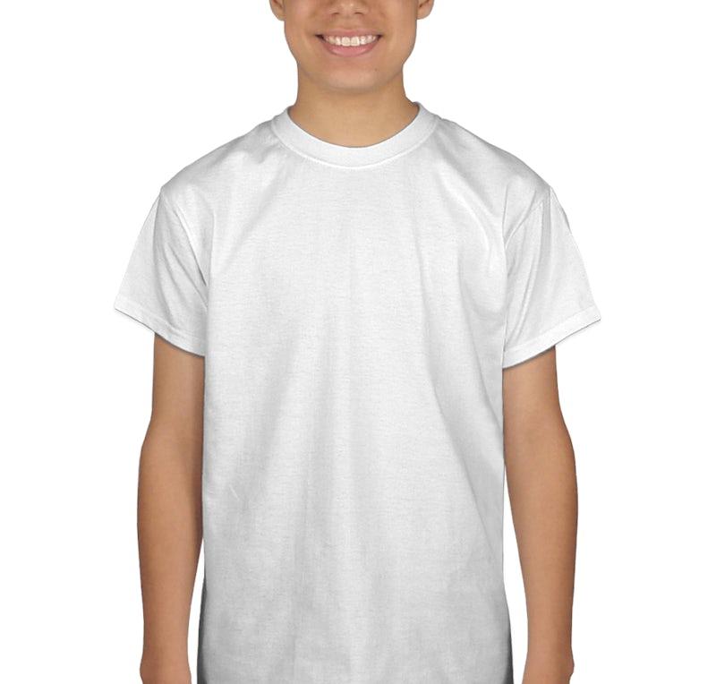 port company youth 100 cotton t shirt design custom