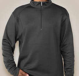 Nike Golf Sport Quarter Zip Pullover - Color: Anthracite