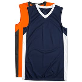 Augusta Colorblock Basketball Jersey