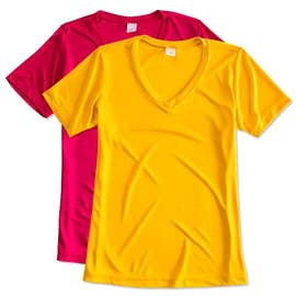 Sport-Tek Ladies Competitor V-Neck Performance Shirt