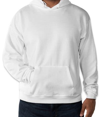 Hanes EcoSmart® 50/50 Pullover Hoodie - White