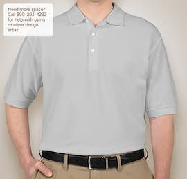 Devon & Jones Pima Pique Polo - Color: Silver