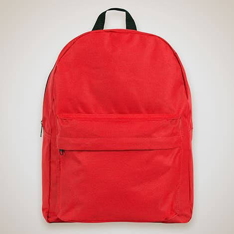 "Classic 15"" Backpack - Red"