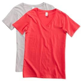 Anvil Ladies Lightweight V-Neck T-shirt