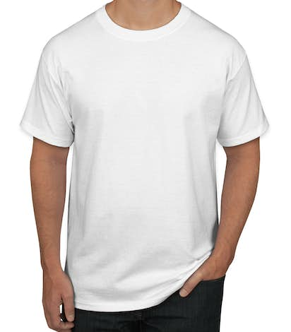 Design Custom Printed Hanes Tagless T-Shirts Online at CustomInk