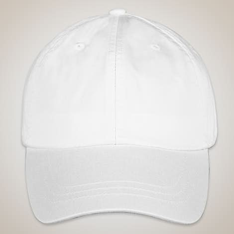 Adams Pigment Dyed Hat - White