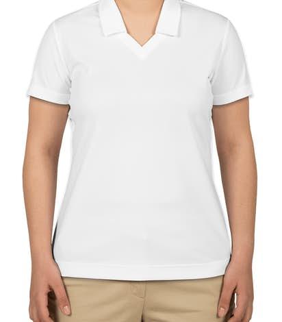 Nike Golf Ladies Dri-FIT Micro Pique Performance Polo - White
