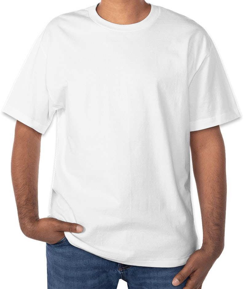 Design custom printed hanes beefy t shirts online at customink for T shirts online custom