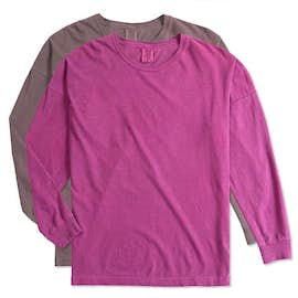 Comfort Colors Ladies Drop Shoulder Long Sleeve T-Shirt