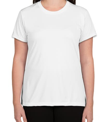 A4 Ladies Promotional Performance Shirt - White