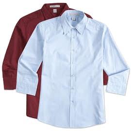 Port Authority Ladies 3/4 Sleeve Easy Care Twill Shirt