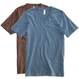 Canvas Jersey V-Neck T-shirt