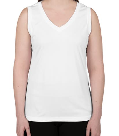 Canada - ATC Ladies Competitor Performance Sleeveless Shirt - White
