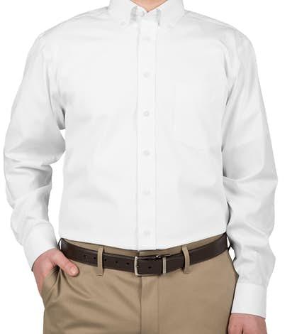 Devon & Jones Solid Dress Shirt - White