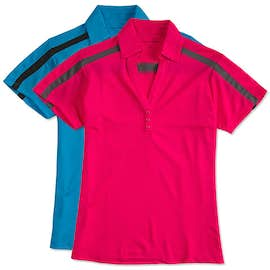 Port Authority Ladies Silk Touch Colorblock Performance Polo