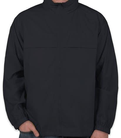 Ultra Club Full Zip Hooded Packable Jacket - True Navy