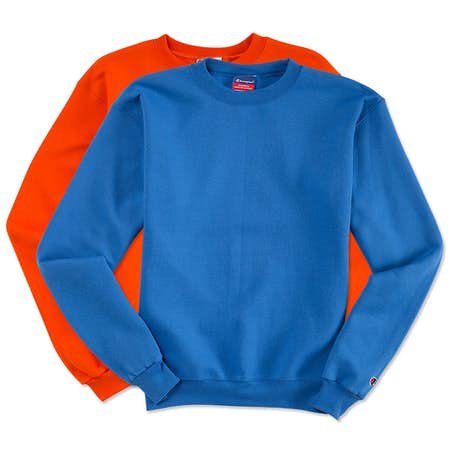 Custom Champion 50/50 Eco Crewneck Sweatshirt - Design Crewneck ...
