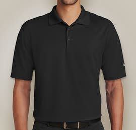Nike Golf Dri-FIT Micro Pique Performance Polo - Color: Black