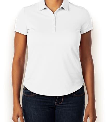 Nike Golf Ladies Dri-FIT Smooth Performance Polo - White