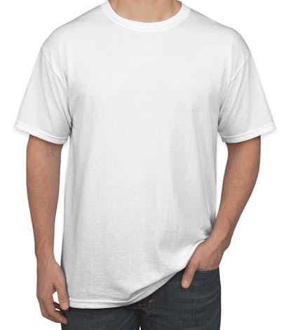 Design custom printed gildan 50 50 t shirts online at for Custom t shirts gildan
