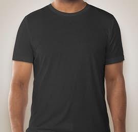 Bella + Canvas Tri-Blend T-shirt - Color: Charcoal Black Tri-Blend