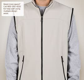 North End Soft Shell Vest - Color: Natural Stone