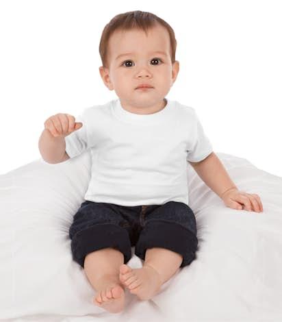 Rabbit Skins Infant Jersey T-shirt - White