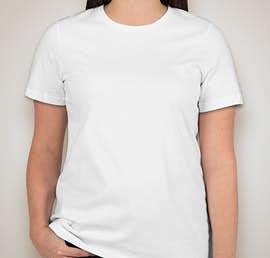 American Apparel Ladies Organic Jersey T-shirt - Color: White