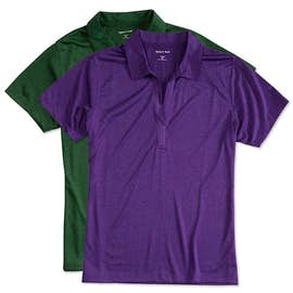 Sport-Tek Ladies Heather Performance Polo - Embroidered